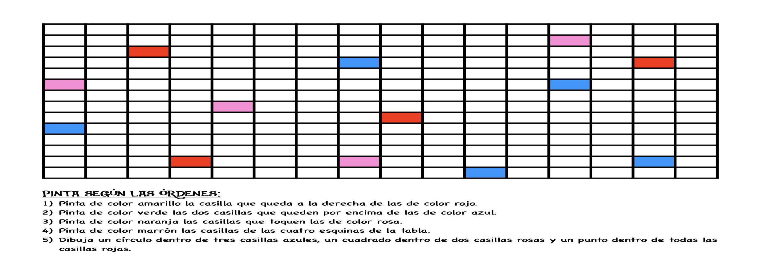 Comprensión bolitas de colores
